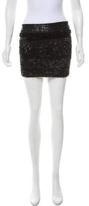 AllSaints Sequined Mini Skirt
