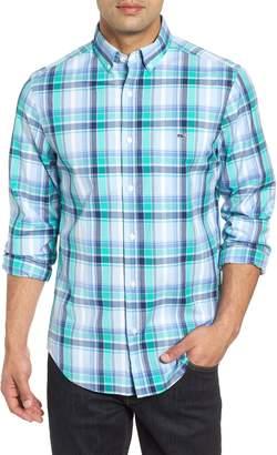 Vineyard Vines Boathouse Slim Fit Plaid Tucker Sport Shirt