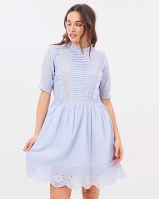 Dorothy Perkins Striped Prairie Dress