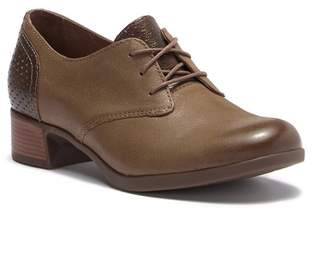 Dansko Louise Burnished Nappa Leather Oxford