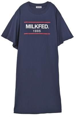 Milkfed. (ミルクフェド) - ミルクフェド FLARE SLEEVE DRESS