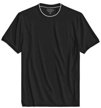 Club Room Men's Tipped Performance T-Shirt, Created for Macy's
