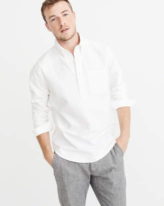 Abercrombie & Fitch Popover Oxford Shirt