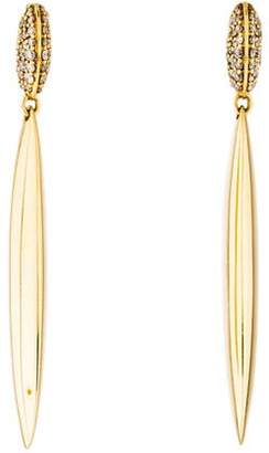 Alexis Bittar 18K Diamond Honey Marquis Spike Drop Earrings