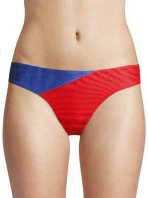 Onia Lily Colorblock Bikini Bottom