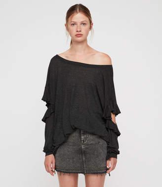 AllSaints Favro Shimmer T-Shirt
