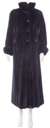 KORS Mink Fur Long Coat