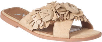 French Sole Dubonnet Suede Sandal