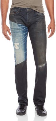 Cult of Individuality Two-Tone Rebel Straight Jeans