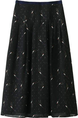 Muveil (ミュベール) - ミュベール シガレットプリントスカート