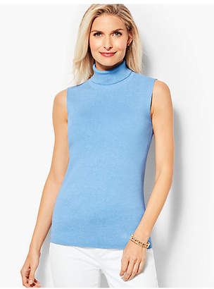 Talbots Smooth-Knit Turtleneck Shell