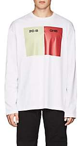 Raf Simons Men's Long-Sleeve Cotton Jersey T-Shirt - White