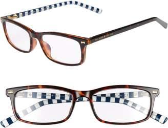 Kate Spade Jodie 50mm Rectangular Reading Glasses