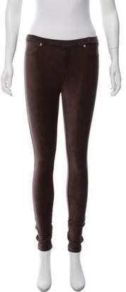 MICHAEL Michael Kors Corduroy Low-Rise Leggings w/ Tags
