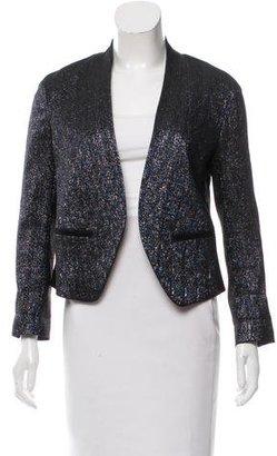 Paul Smith Metallic Long Sleeve Jacket $175 thestylecure.com