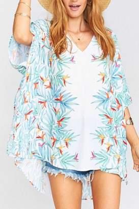 Show Me Your Mumu Palm Peta Tunic