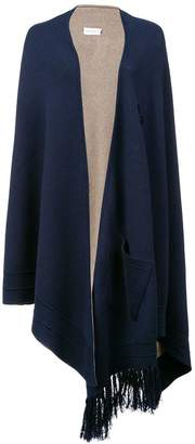 Yigal Azrouel knitted asymmetric cape jacket