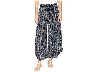 Free People Elena Printed Soft Pants Women's Casual Pants