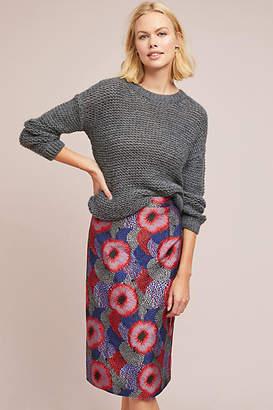 Isla Maude Monello Jacquard Pencil Skirt