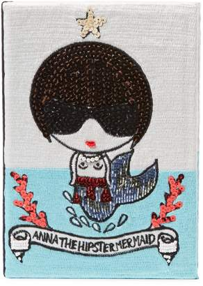 Mua Mua Dolls Women's Anna The Hipster Mermaid Book Clutch