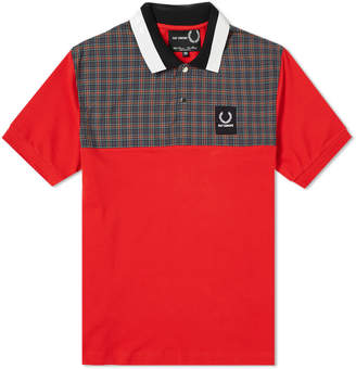 Raf Simons Fred Perry X Fred Perry x Check Yoke Polo