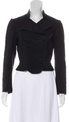 Marc by Marc Jacobs Double-Breasted Embroidered Blazer
