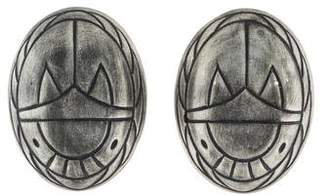 Ben-Amun Ben Amun Scarab Clip-On Earrings