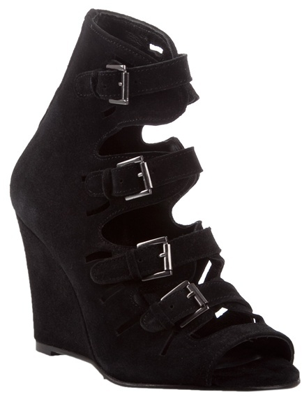 SURFACE TO AIR - Multi strap wedge boots