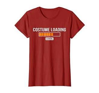 Costume Loading Shirt - Funny Halloween Costume Shirt Gift