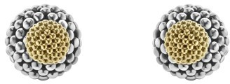 Women's Lagos Caviar Ball Stud Earrings $900 thestylecure.com