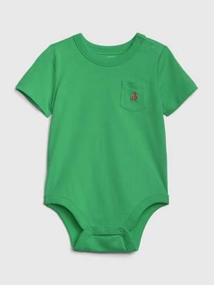 Gap Baby Short Sleeve Bodysuit