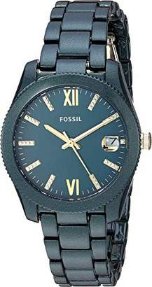 Fossil Women's 'Scarlette' Quartz Stainless-Steel-Plated Casual Watch