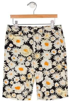 Burberry Boys' Floral Print Shorts w/ Tags