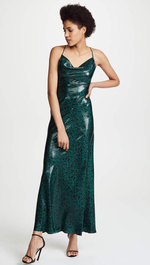 Diane von Furstenberg Cowl Bias Gown – Shop Playsuitsandmore
