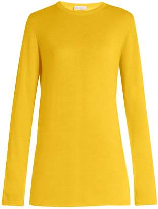 Raey Long-line fine-knit cashmere sweater