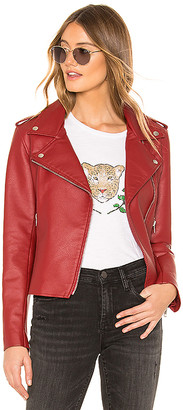 BB Dakota Just Ride Faux Leather Jacket
