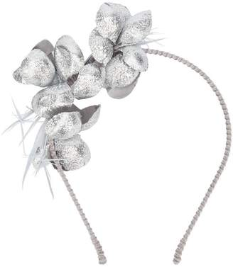Gigi Burris Millinery floral applique headband