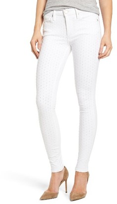 Women's True Religion Brand Jeans Halle Eyelet Skinny Jeans