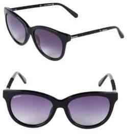 Swarovski 56MM Oval Sunglasses