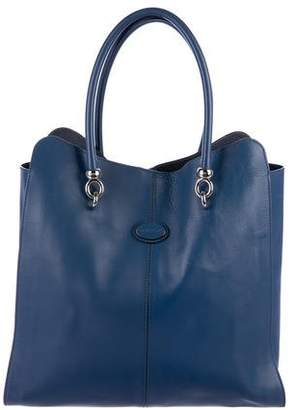 Tod's Leather N/S Tote