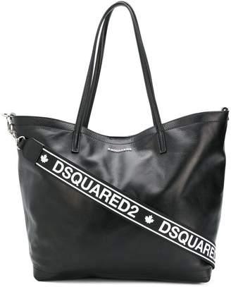 DSQUARED2 logo tote bag