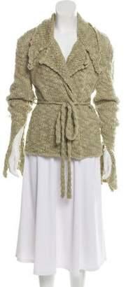 Fendi Wool Belted Sweater