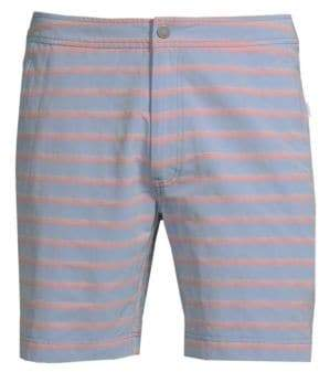 Onia Ocean Stripe Calder Trunks