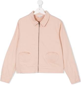 Stella McCartney shell pocket bomber jacket