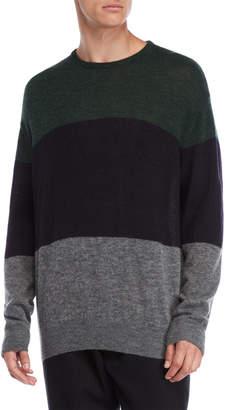 Roberto Collina Knit Color Block Pullover