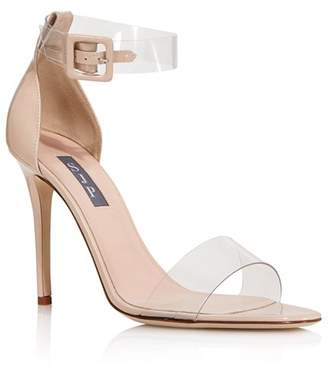 Sarah Jessica Parker Women's Lively Clear High-Heel Sandals - 100% Exclusive