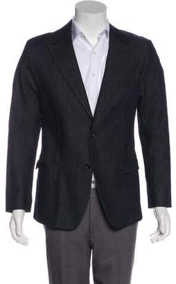 Dolce & Gabbana Denim Two-Button Blazer