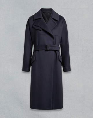 Belstaff Brownlow Trench Coat Blue