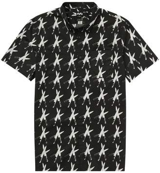 Billabong x WARHOL x BASQUIAT - Collided Short Sleeve Shirt