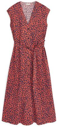 Arket Printed Jersey Dress
